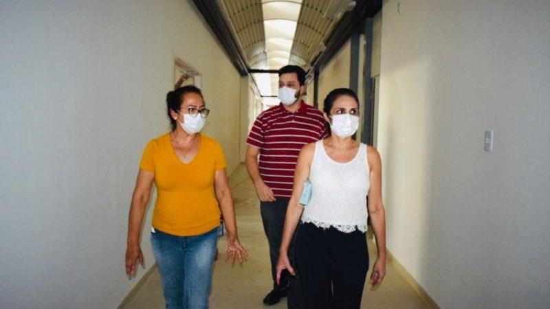Diretores do Sindmed-AC visitam Into e cobram  celeridade na entrega da unidade para pacientes com Covid-19