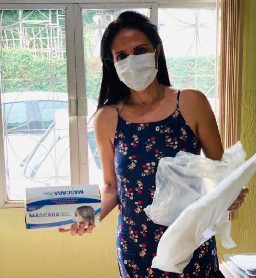 Sindmed-AC recebe doação de EPIs para profissionais da saúde que estão na linha de frente do combate a Covid-19