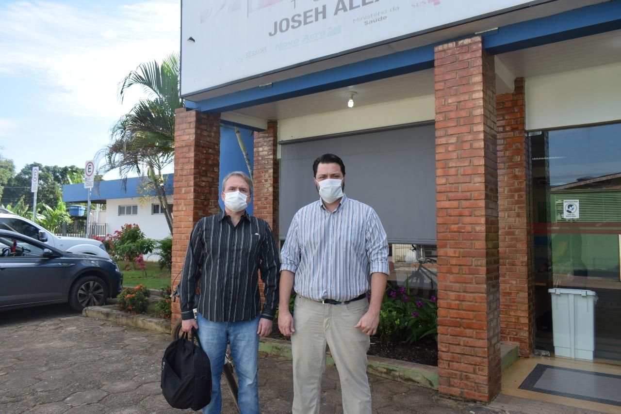 Sindmed-AC constata problemas na Policlínica do Tucumã